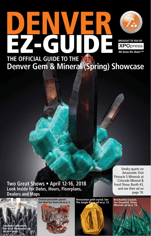 Welcome to the Denver Gem & Mineral (Spring) Showcase!