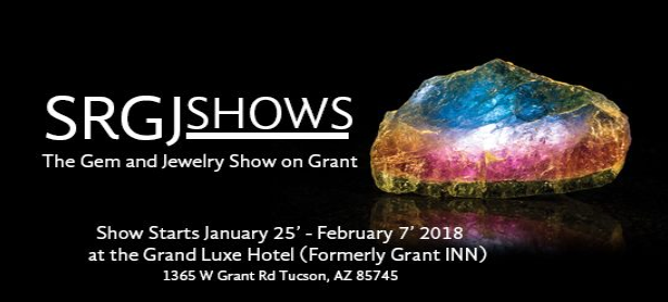 #TucsonGemShow  Silk Road Gem & Jewelry Show at the Grand Luxe Hotel (formerly the Grant Inn Show)