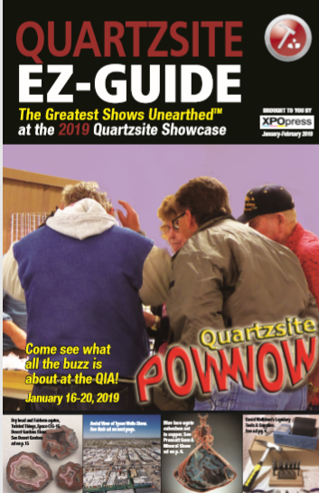 DOWNLOAD YOUR 2019 QUARTZSITE EZ-GUIDE!