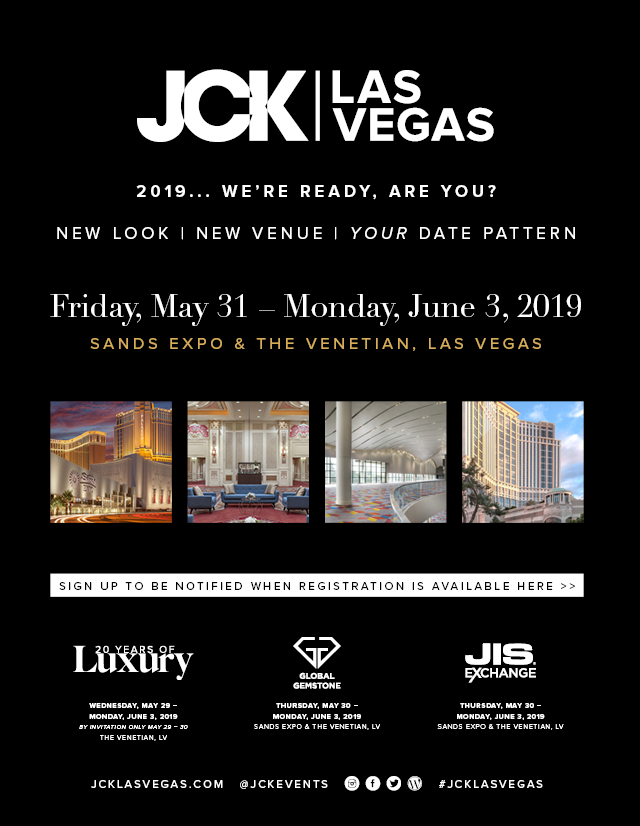 PRESS RELEASE:  JCK Las Vegas Antique & Estate Neighborhood Expands