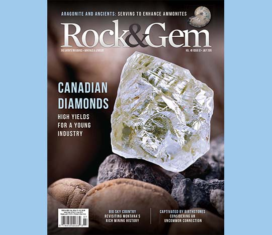 Rock & Gem article July 2019