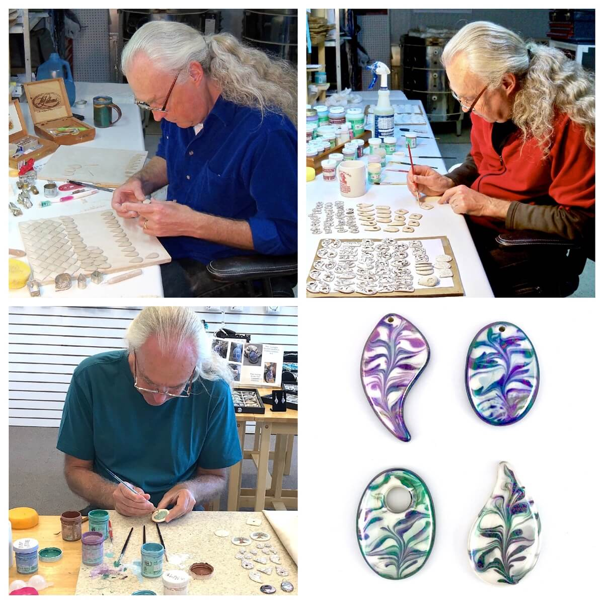 Intro to Porcelain Jewelry Components Classes Now Available