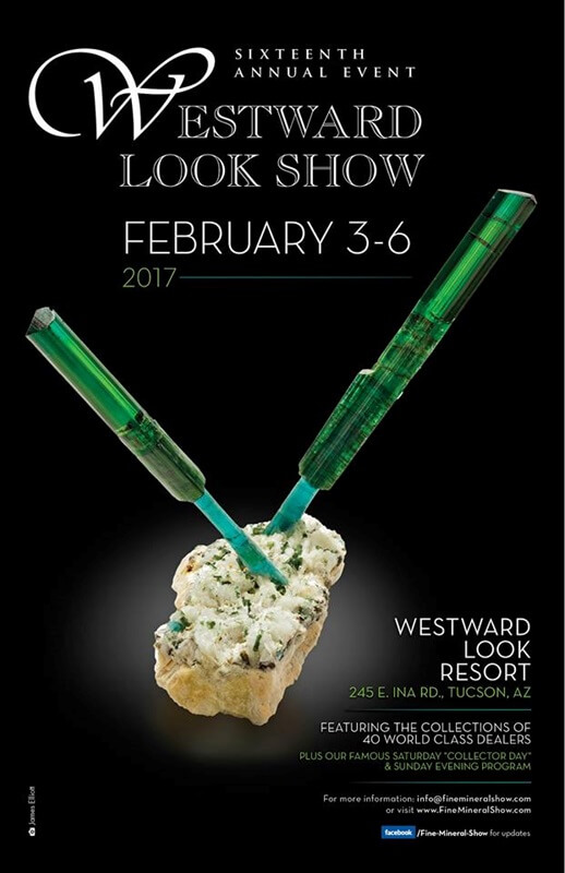 Westward Look Mineral Show Announces Special Events