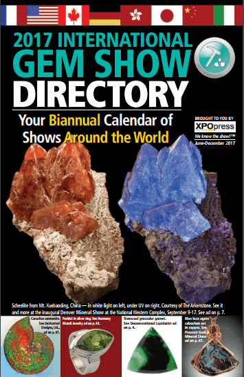 Fall & Winter Edition of International Gem Show Directory Available For Download