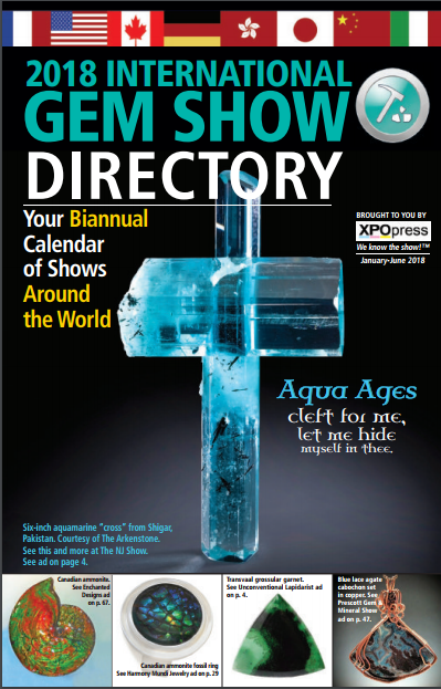 Download the January 2018 Edition of International Gem Show Directory