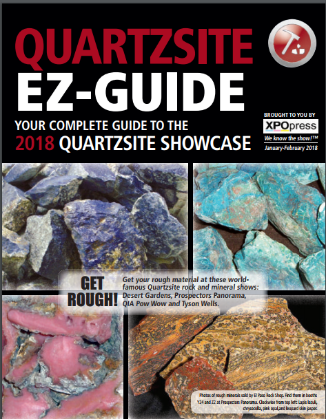 Download Your 2018 Quartzsite EZ-Guide Now...