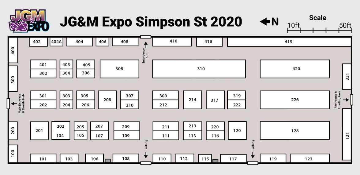 floorplan JG&M Expo at Simpson Street