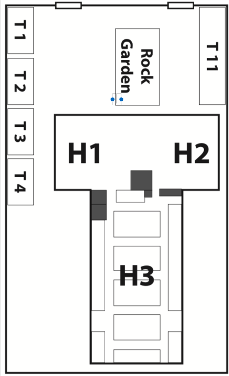 floorplan JG&M Expo at Michigan Street