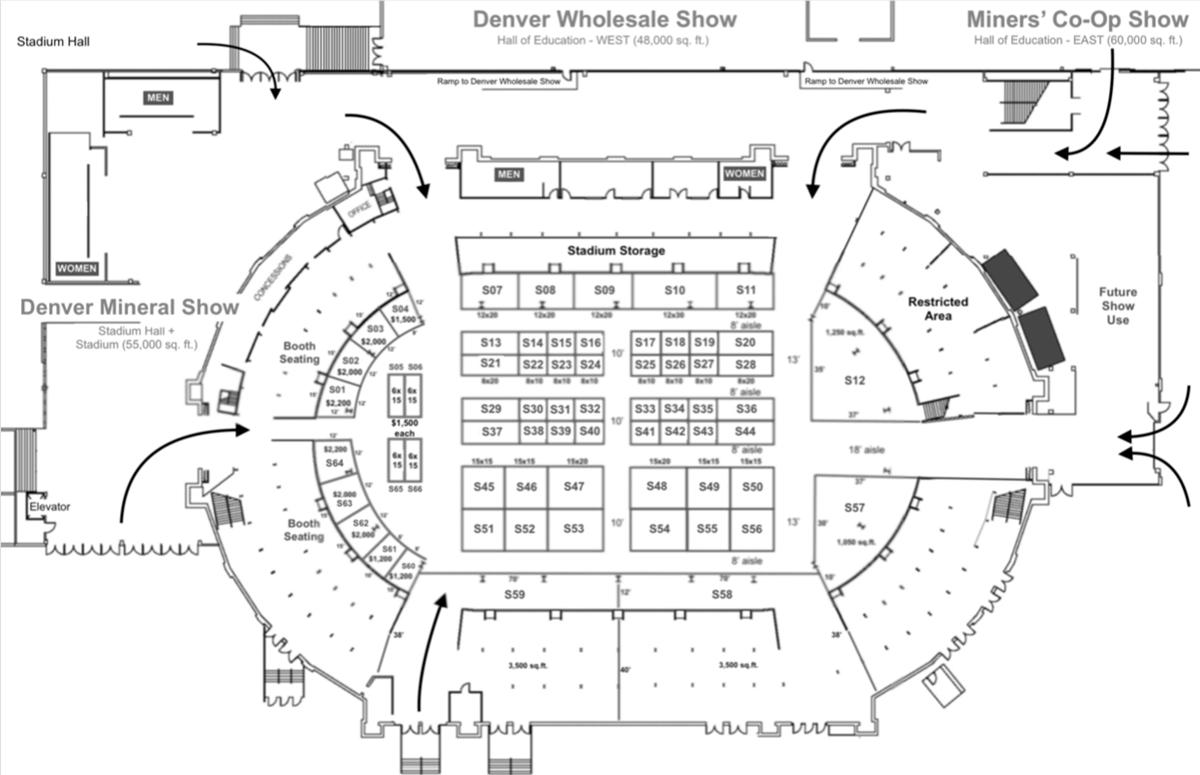 floorplan Denver Wholesale Show