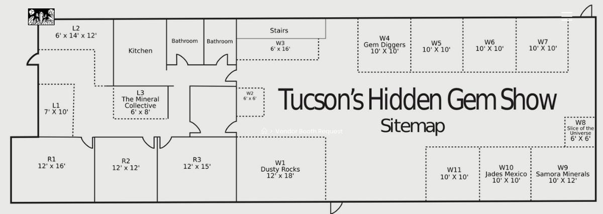 floorplan Tucson's Hidden Gem Show