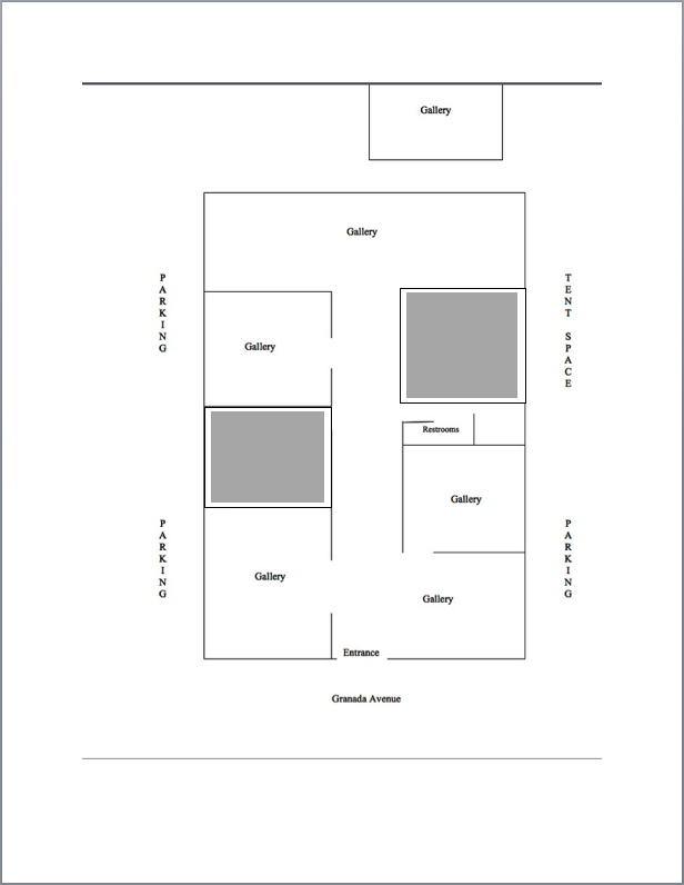 floorplan Granada Gallery