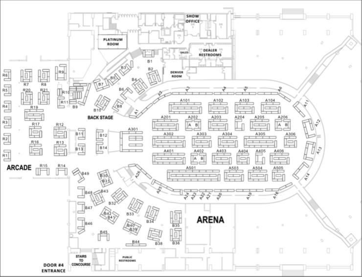 floorplan Coliseum Show