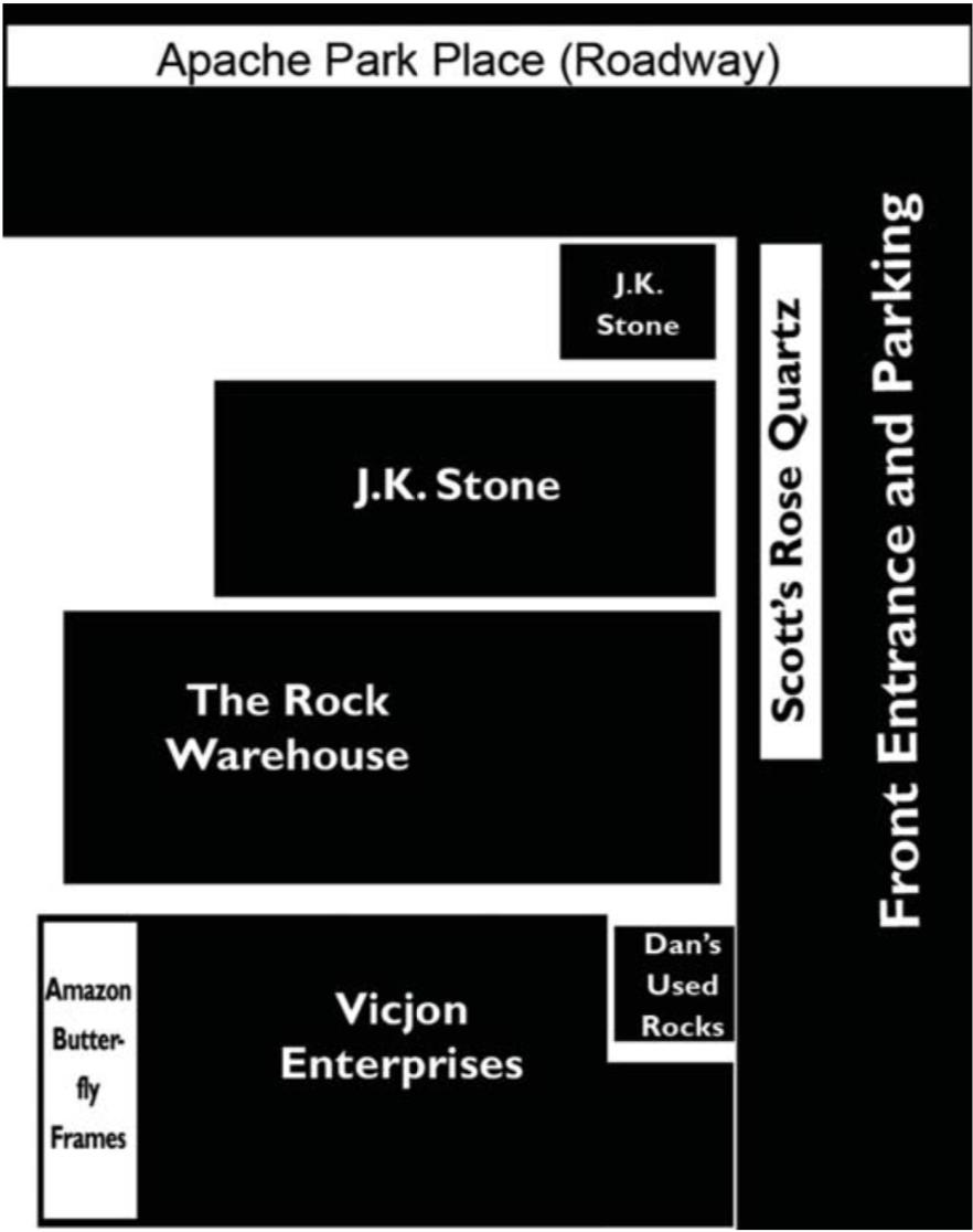 floorplan Arizona Independent Warehouse Show