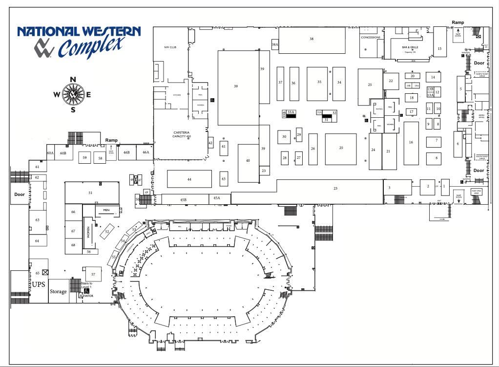 floorplan Denver Expo Gem Show