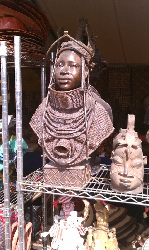 Don't miss the art and great foods at the African Village...its worth a trip for the Shea Butter.