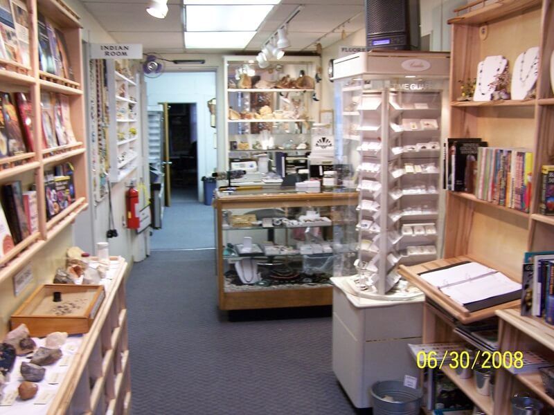 Be sure to visit the gift shop in the Franklin Gem & Mineral Museum.