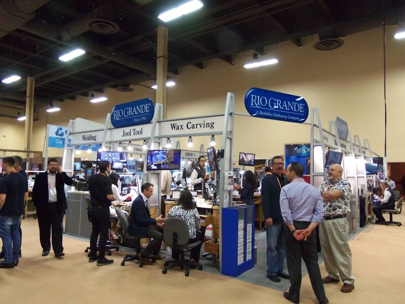 "One of the highlights of the Tools area at the JCK Show is the Rio Grande ""Catalog In Motion"""