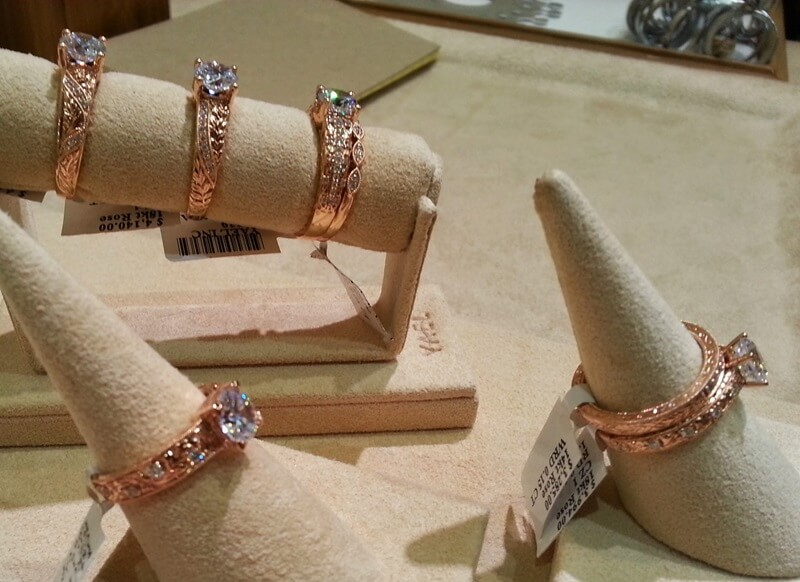 Engagement Collections rule - this is a newer line from Yael designed by Christina Huber