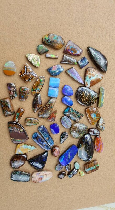 Assortment of Opals - Poor Boy Opals