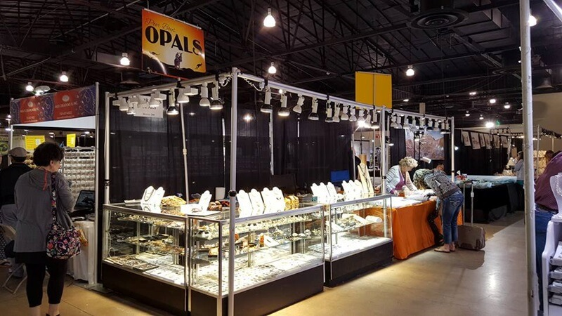 Poor Boy Opals at the G&LW Show