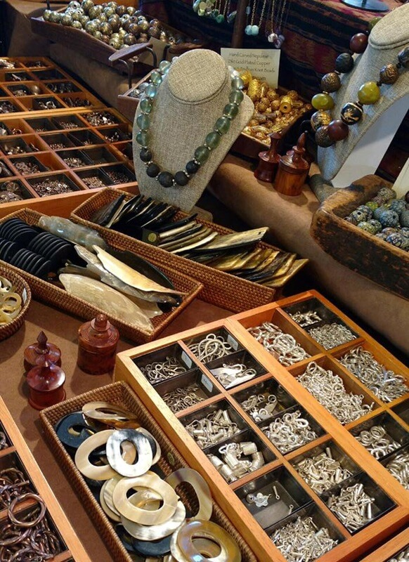 The Bead Goes On shows a great example of the Jewelry Making Supplies available....