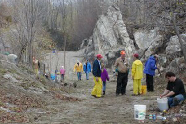 """Some of the dozens of area """"gem mines"""" enjoy their peak season, providing tourists with the unforgettable experience of sluicing for authentic gemstones — as well as rockhounding fieldtrips for sapphires, rubies, emeralds, and many more!"""