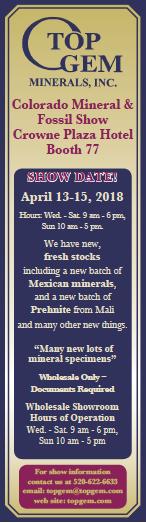 Denver Gem & Mineral (Spring) Showcase Image