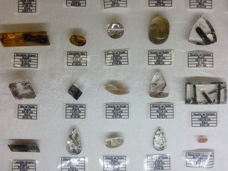 "Who doesn't love a really great display of ""stuff in Quartz"" at the Denver Gem & Mineral Show at the Denver Mart/Expo Center.