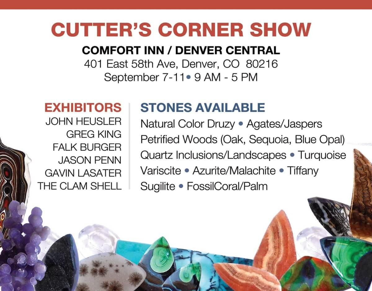 Cutter's Corner Gem Show
