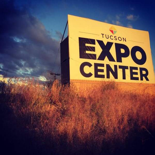 The JOGS Gem & Jewelry show is at the Tucson Expo Center, an air-conditioned facility located at 3750 E. Irvington Rd., Tucson, AZ 85714.