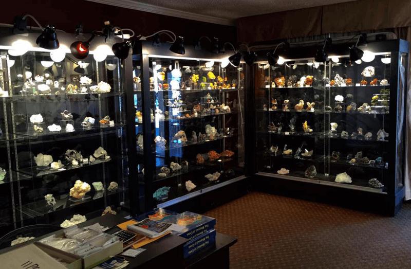 Executive Minerals & Fossil Show