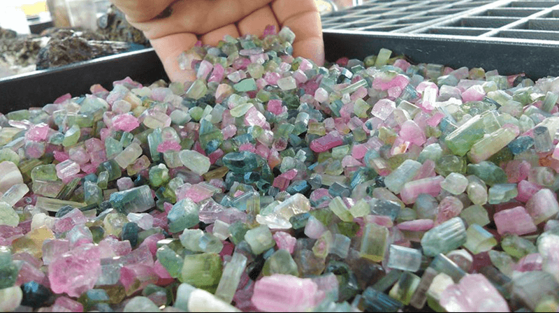 We are proud to host the largest rock, gem, and mineral show in Quartzsite, Arizona!