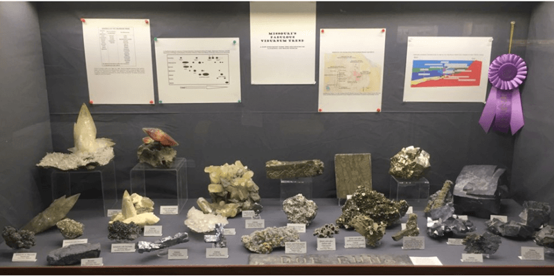 Our show exhibits provide a rare window into private and museum collections of the mineral world's stars.