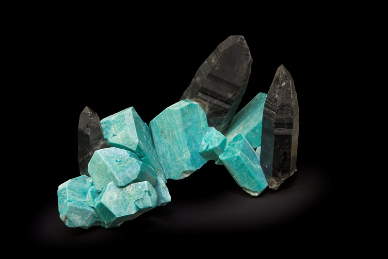 Colorado Mined Amazonites & Smoky Quartz - Pinnacle 5 Minerals