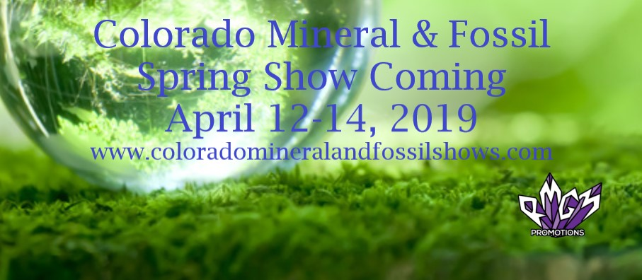 Colorado Mineral & Fossil Spring Show