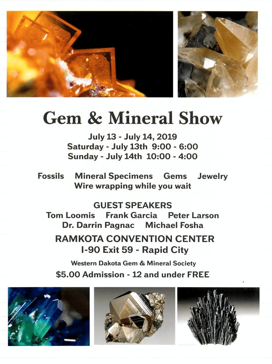 Western Dakota Gem & Mineral Rock Show