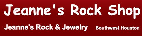 Jeanne's Rock Shop Logo