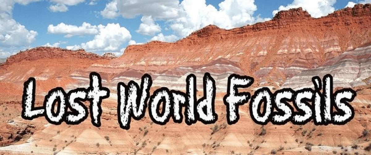 Lost World Fossils Logo