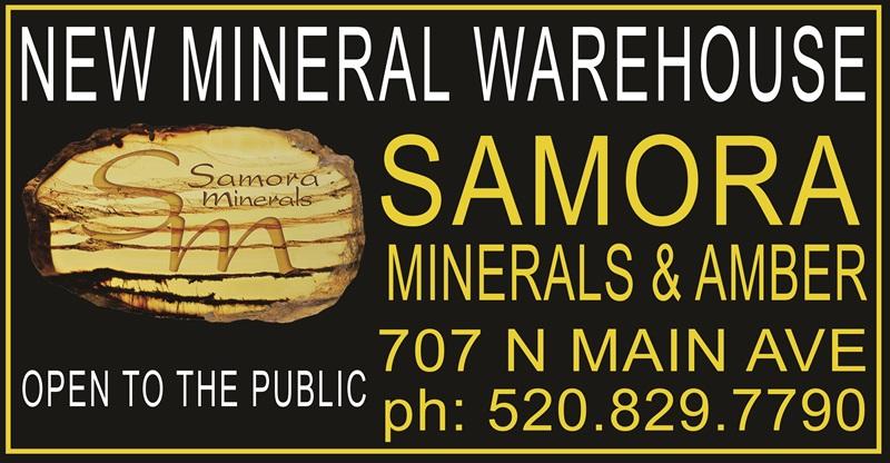 Samora Minerals & Amber Co. Logo