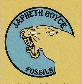 Japheth Boyce Fossils Logo