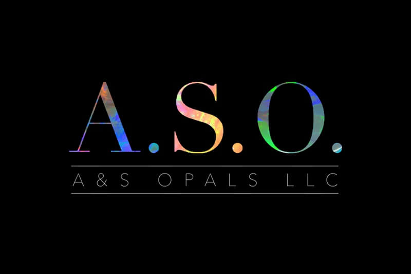 A&S Opals LLC  Logo