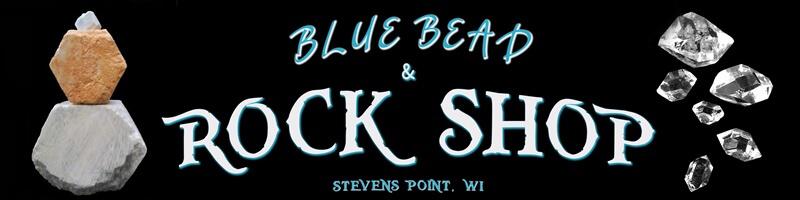 Blue Bead & Rock Shop LLC Logo