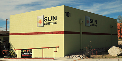 Sun Gemstone Logo