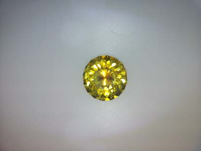 Yellow Montana Sapphire