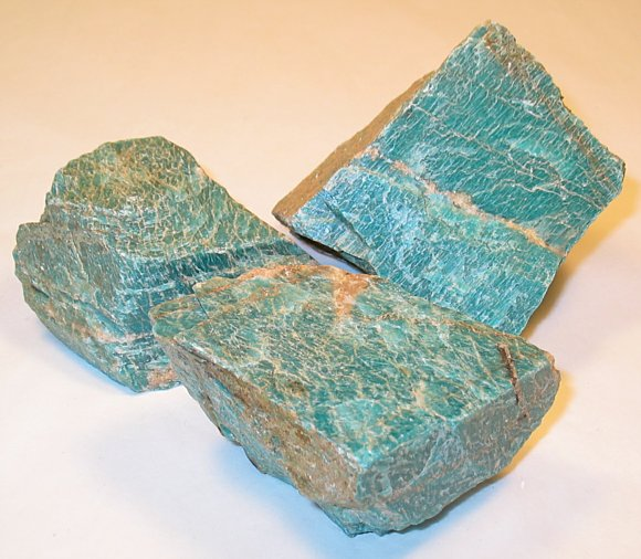 Amazonite. Locality: Brazil. 