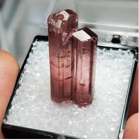 "Tourmaline ""Twin"" crystal"