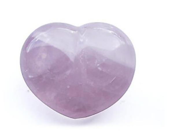 Rose Quartz Decorative Hearts