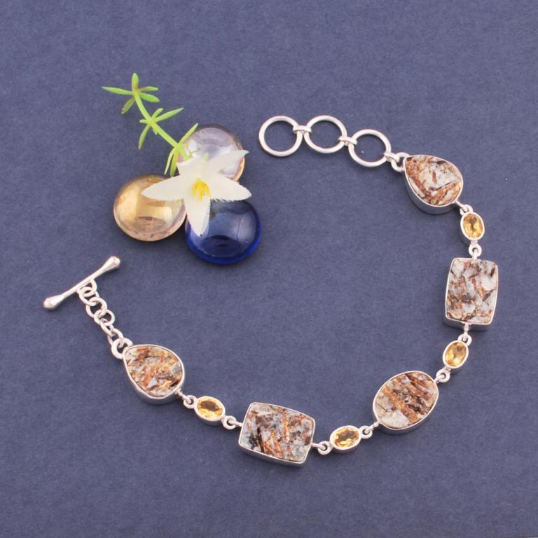 Astrophyllite Bracelet