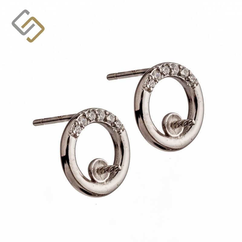 Earrings setting