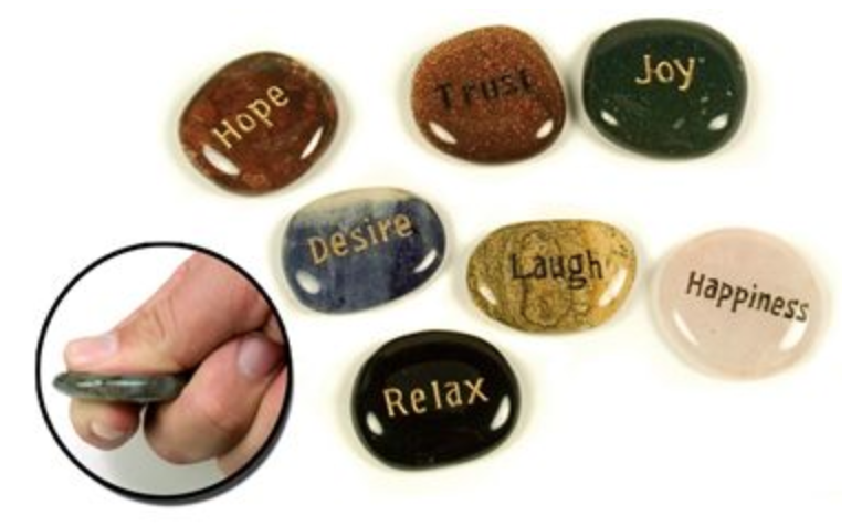 Your one stop shop for gift items such as these wish stones.